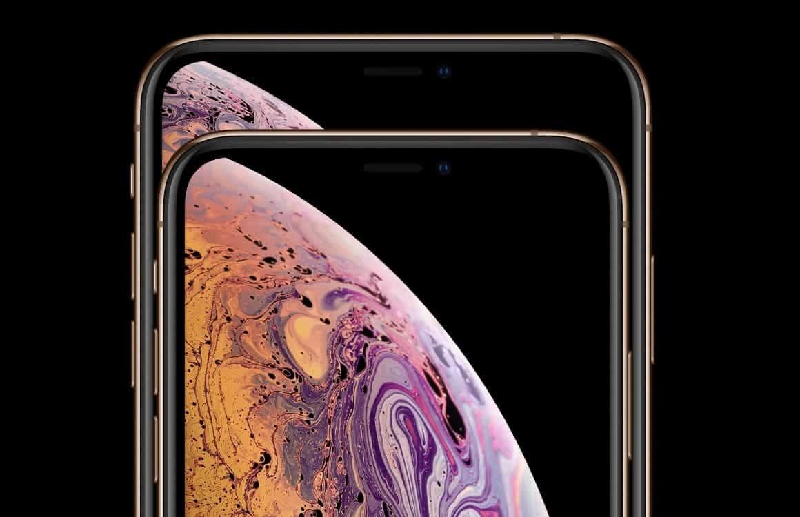 iPhone XS en iPhone XS Max voorkant