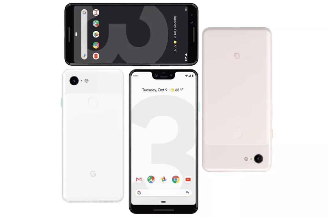 5 zaken die je moet weten over de Google Pixel 3 en Pixel 3 XL