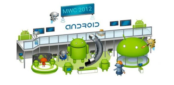 MWC 2012 Android