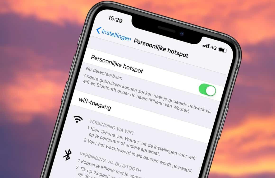 Een smartphone hotspot maken: zo werkt het en dit heb je er aan
