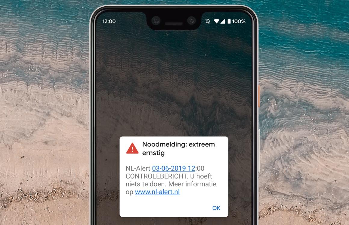 nl alert instellen