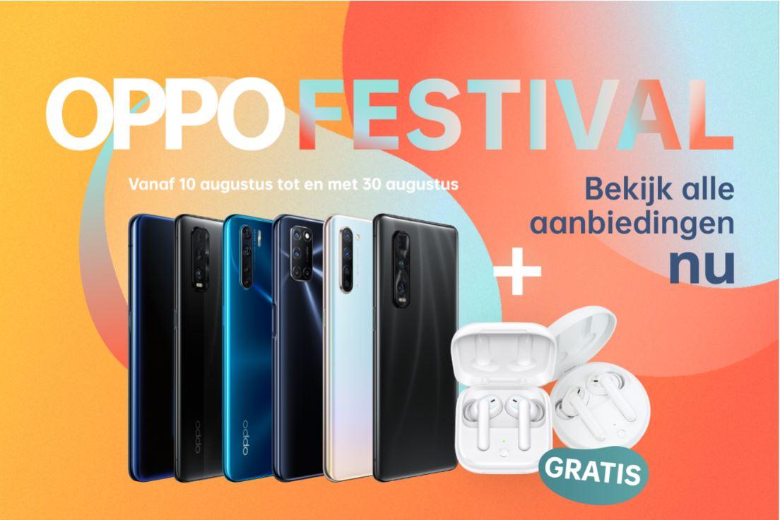 De beste Oppo-telefoons koop je met korting tijdens het OPPO Festival! (ADV)