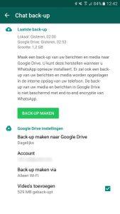 WhatsApp overzetten